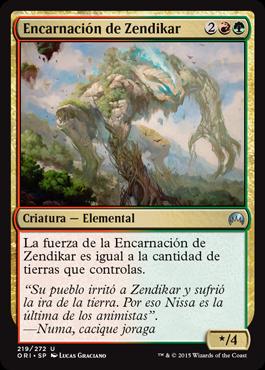 Encarnación de Zendikar