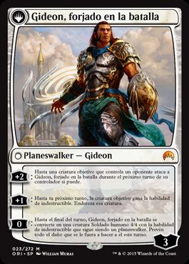 Gideon, forjado en la batalla
