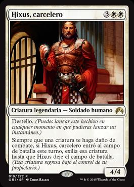 Hixus, carcelero