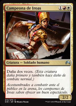 Campeona de Iroas