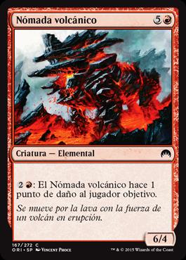 Nómada volcánico