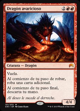 Dragón avaricioso