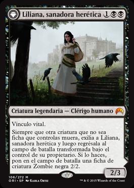Liliana, sanadora herética