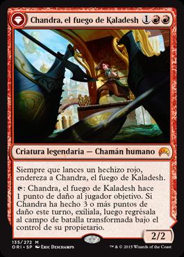Chandra, el fuego de Kaladesh