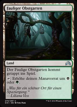 Fauliger Obstgarten