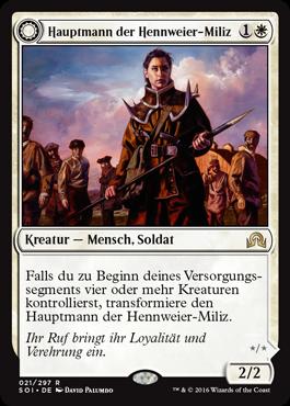 Hauptmann der Hennweier-Miliz