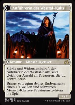 Anführerin des Westtal-Kults