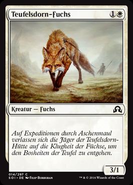 Teufelsdorn-Fuchs