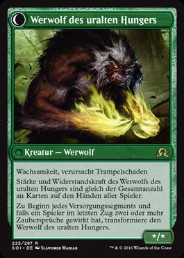 Werwolf des uralten Hungers