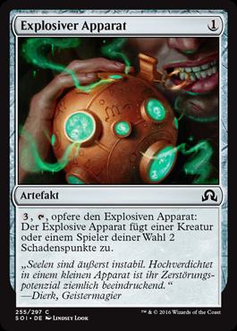 Explosiver Apparat