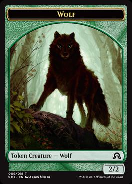 狼トークン