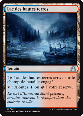 Lac des hautes terres