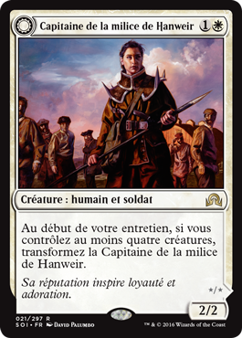 Capitaine de la milice de Hanweir