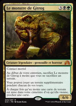 Le monstre de Gitrog