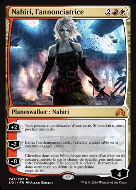 Nahiri, l'annonciatrice