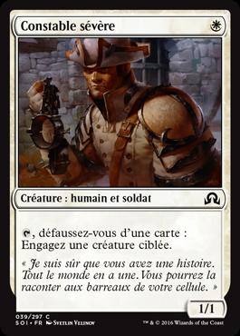 Constable sévère