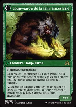 Loup-garou de la faim ancestrale