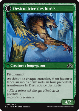 Destructrice des forêts