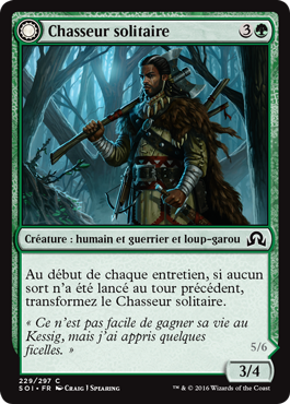 Chasseur solitaire