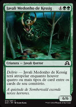 Javali Medonho de Kessig