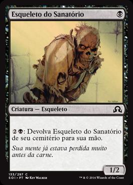 Esqueleto do Sanatório