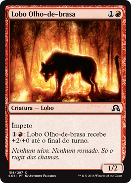 Lobo Olho-de-brasa