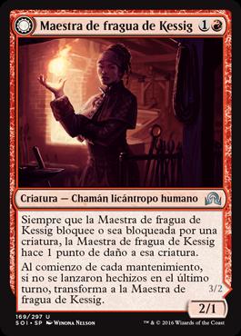 Maestra de fragua de Kessig