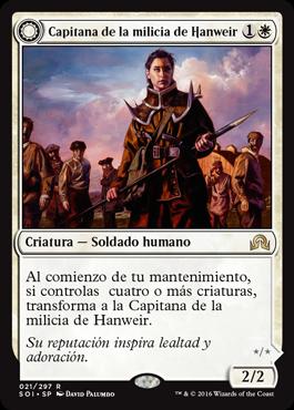 Capitana de la milicia de Hanweir