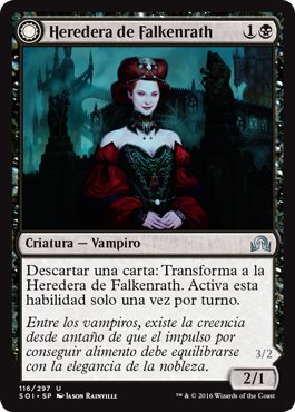 Heredera de Falkenrath
