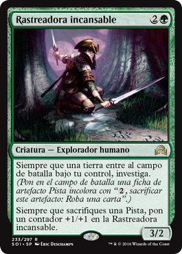 Rastreadora incansable
