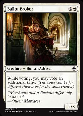 投票の仲買人
