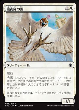護衛隊の翼