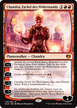 Chandra, Fackel des Widerstands