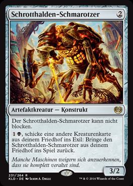 Schrotthalden-Schmarotzer