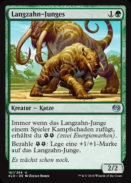 Langzahn-Junges