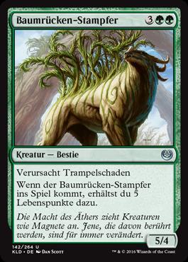 Baumrücken-Stampfer