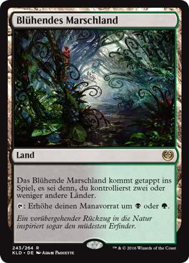 Blühendes Marschland