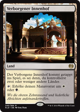 Verborgener Innenhof