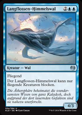 Langflossen-Himmelswal