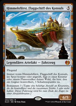 Himmelsfürst, Flaggschiff des Konsuls