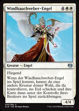 Windhauchweber-Engel