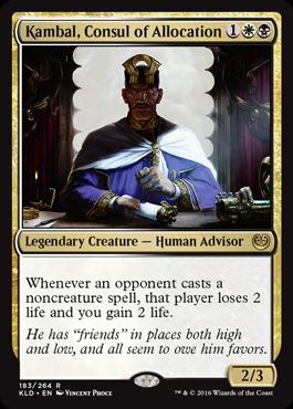 Kambal, Consul of Allocation