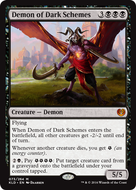 Demon of Dark Schemes