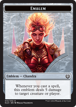 Chandra Emblem token