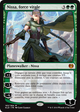 Nissa, force vitale