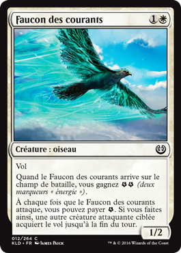 Faucon des courants