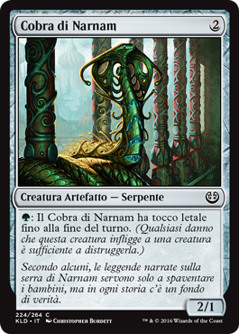 Cobra di Narnam