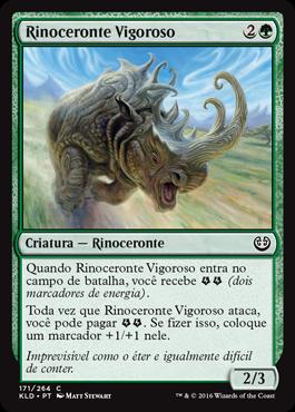 Rinoceronte Vigoroso