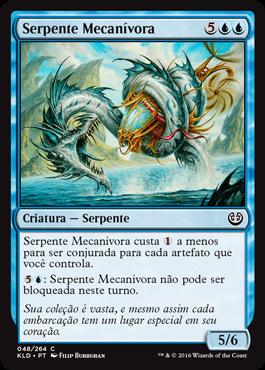 Serpente Mecanívora
