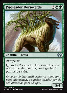Pisoteador Dorsoverde
